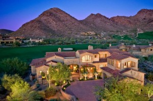 scottsdale az golf homes
