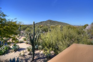 Sincuidados Home for Sale in North Scottsdale - Balcony View