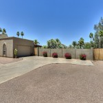 Garage RV Gate - Camino Santo Drive Home for Sale in Scottsdale