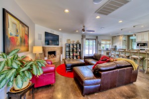 Living Room - Camino Santo Drive Home for Sale in Scottsdale