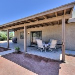 Covered Patio - Camino Santo Drive Home for Sale in Scottsdale