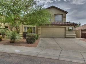 Front View 24661 North 75th Way Scottsdale, AZ 85255 - Home for Sale