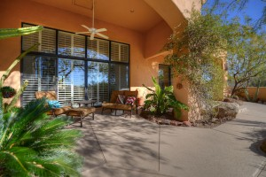 Sincuidados Home for Sale in North Scottsdale - Covered Patio II