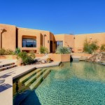 Sincuidados Home for Sale in North Scottsdale - Pool Side View