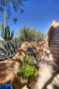Sincuidados Home for Sale in North Scottsdale - Viewing Balcony Staircase
