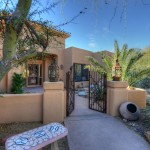 Sincuidados Home for Sale in North Scottsdale - Front Courtyard