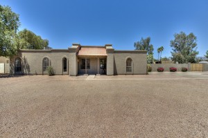 Front View - Camino Santo Drive Home for Sale in Scottsdale