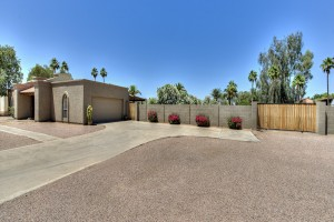 Garage RV Gate - Camino Santo Drive Home for Sale in Scottsdale