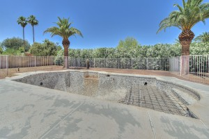 Pool Side - Camino Santo Drive Home for Sale in Scottsdale