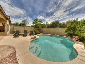 Pool Side 24661 North 75th Way Scottsdale, AZ 85255 - Home for Sale